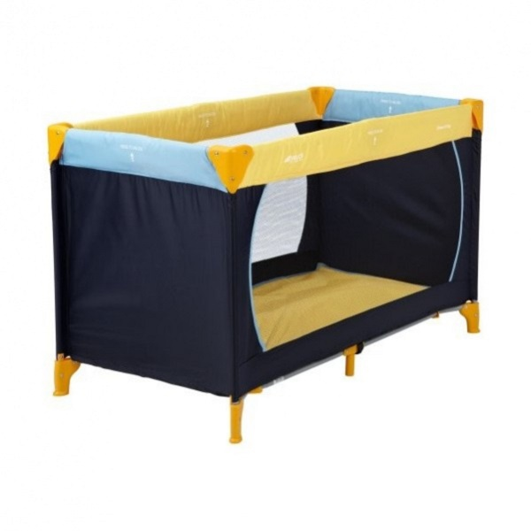 Детский манеж Hauck Dream'n Play N - yellow/blue/navy