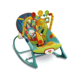 Шезлонг-качалка Fisher Price X 7044 - описание